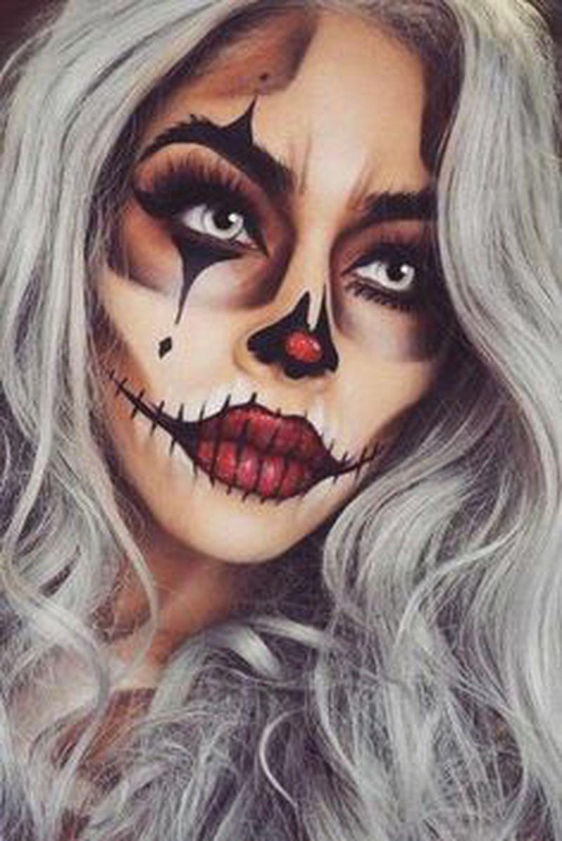 Makijaż na Halloween. Najciekawsze inspiracje z Pinteresta ♥ - 2