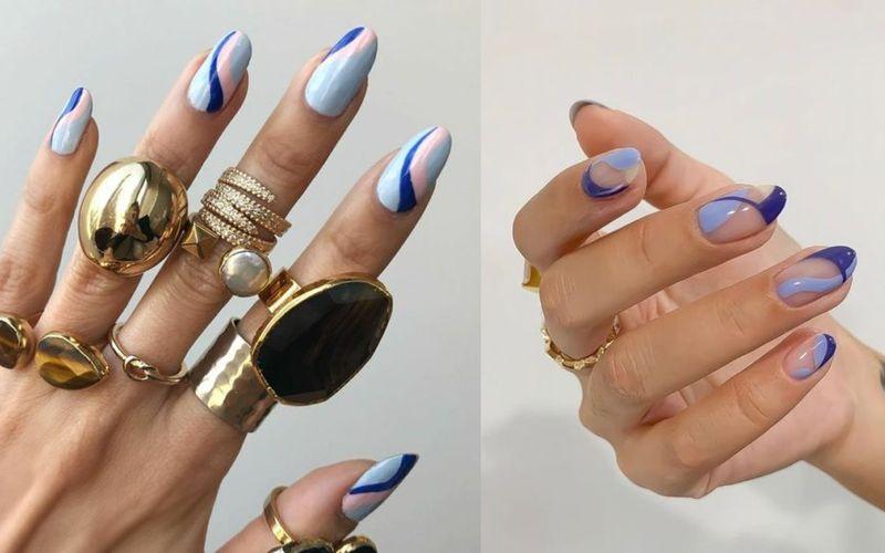 Squiggly nails. W tych wzorkach na paznokciach zakochał się cały Instagram - zdjęcie 1