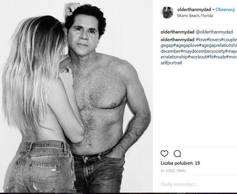 """Najdziwniejsza para na Instagramie. Starszy pan i jego młodziutka """"dziewczyna"""" (FOTO 18+) - 2"""