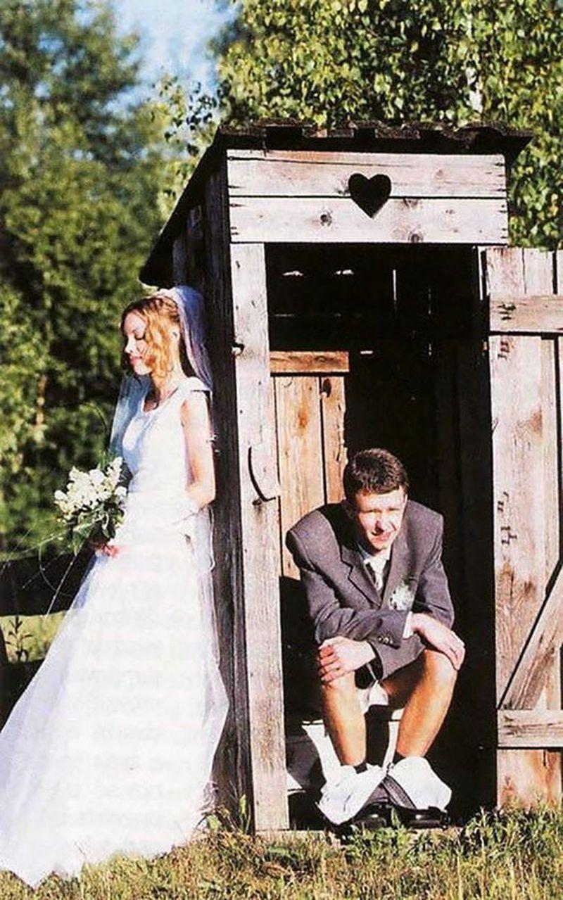 Tandetne, kiczowate, momentami wulgarne. 10 najgorszych zdjęć nowożeńców - 2