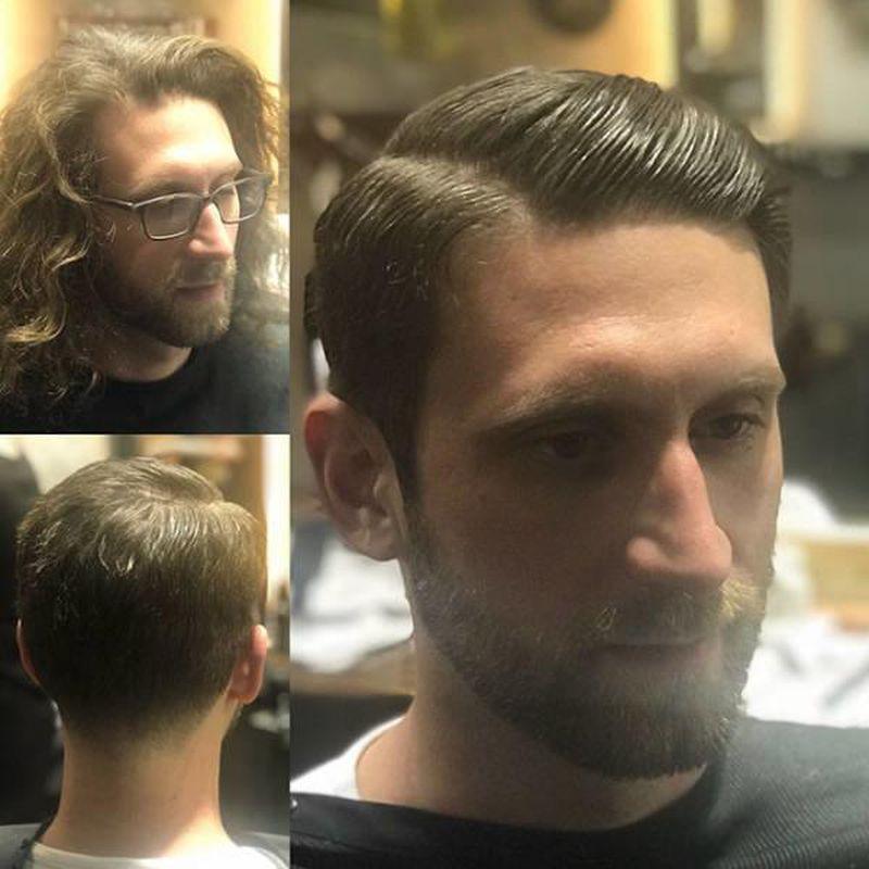 Faceci, którzy nigdy nie powinni zapuszczać włosów. Dopiero po ich ścięciu mają wzięcie - 2