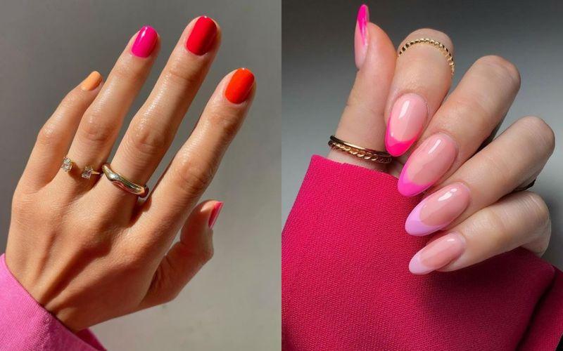 """""""Truskawkowy sorbet"""". Prawdziwie soczysty i urzekający manicure idealny na gorące lato - zdjęcie 1"""