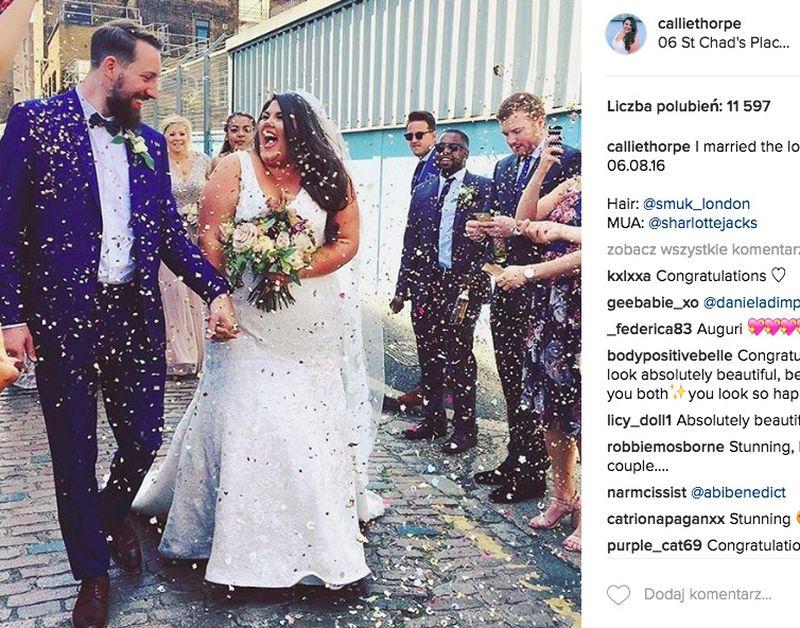Callie i Daniel pobrali się w...