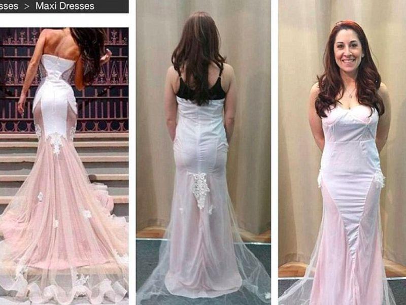 Suknia ślubna z Internetu -...