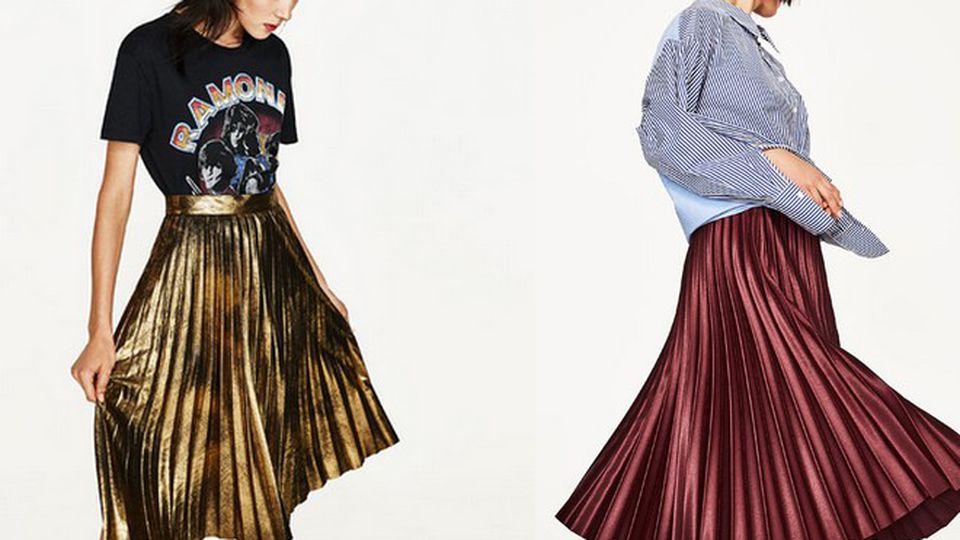 Trend alarm: plisowana spódnica   O zdrowiu, urodzie