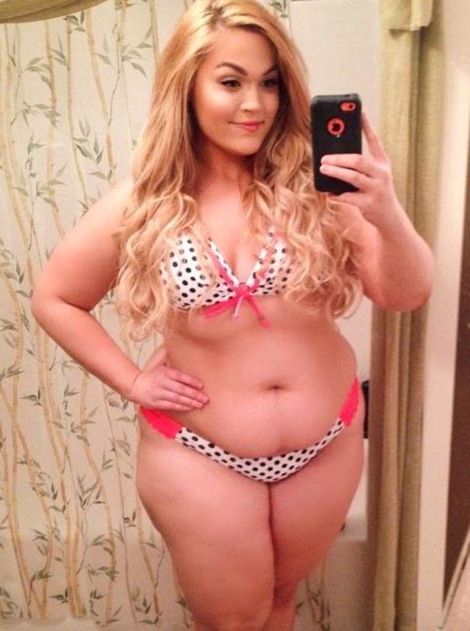 Czy otyła kobieta może być sexy? Ta 22-latka udowadnia, że