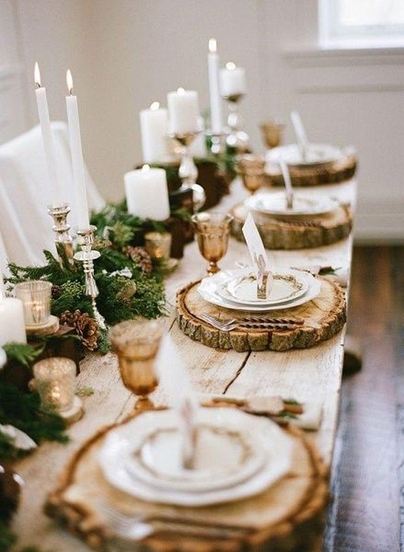 Propozycje nakrycia stołu świątecznego - 1