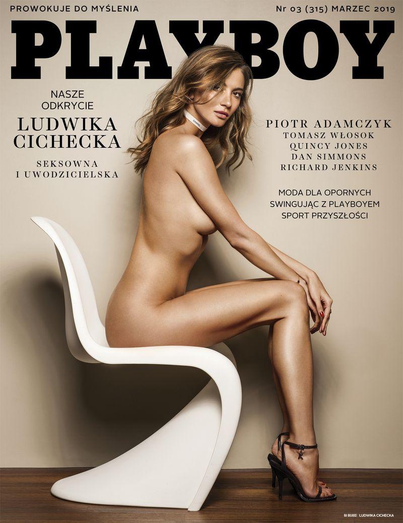 Piękność, która pojawiła się na nowej okładce polskiego Playboya. Poznajcie Ludwikę Cichecką - 2