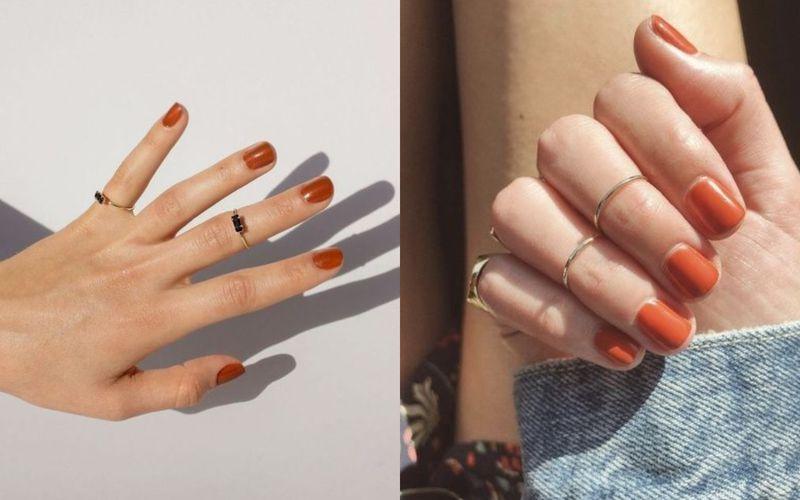Karmelowe paznokcie. Najbardziej apetyczny manicure, któremu nie można się oprzeć - zdjęcie 1