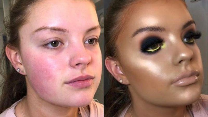 Make-up, zgodnie z jego przeznaczen...