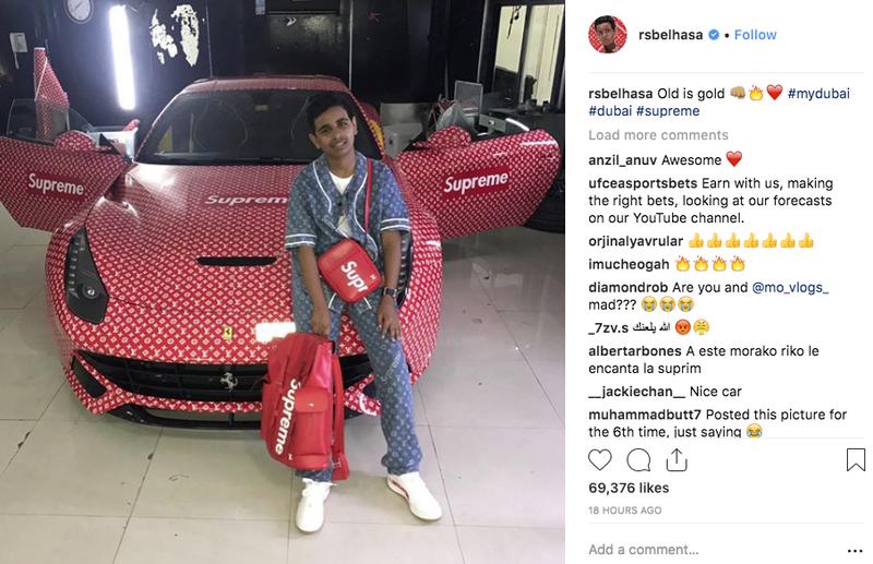 Ma 15 lat i jest najbogatszym nastolatkiem w Dubaju. Tak wygląda jego ekstrawaganckie życie - 2