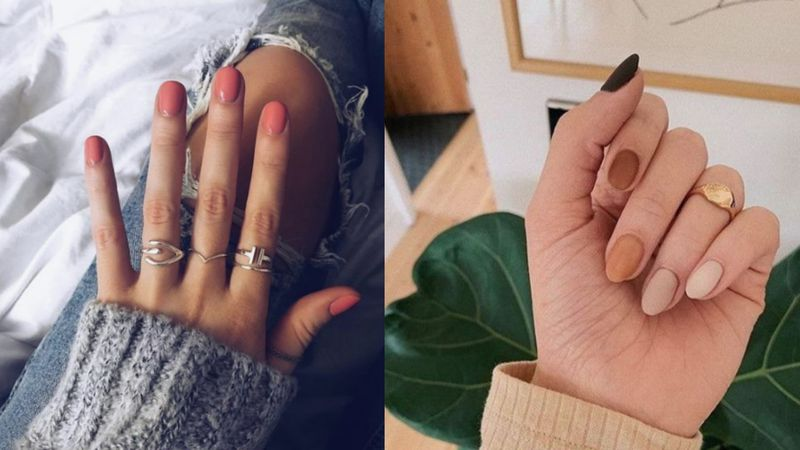 Manicure inspirowany terakotą?...