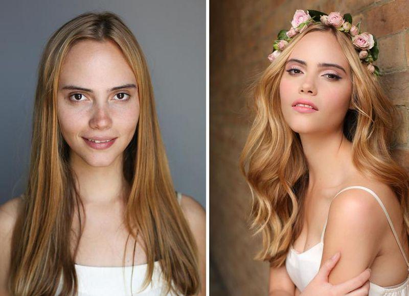 Mocny makijaż uratował ich ślub. Tak odmienił niepozorne panny młode - 2