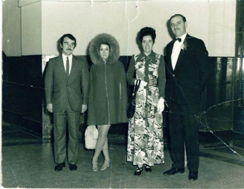 Zdjęcie wykonane na weselu w 1972 r...