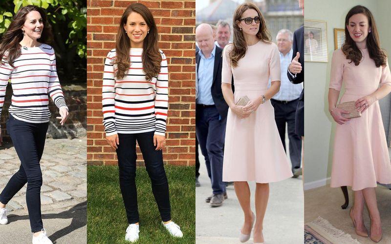 Można pomylić ją z Kate Middleton. Zawsze ma na sobie to samo, co księżna - zdjęcie 1