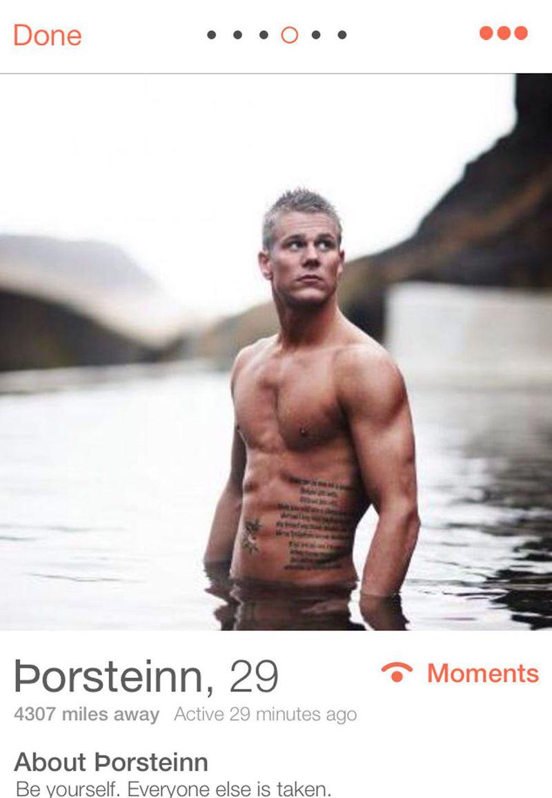 Porsteinn, 32-latek z Islandii