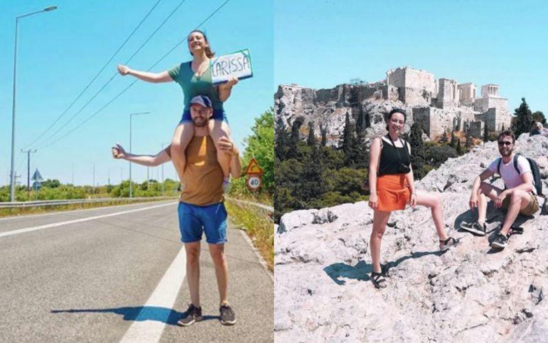 Podróżują po całym świecie zupełnie za darmo. Poznaj Alessię i Jentego, parę autostopowiczów - zdjęcie 1