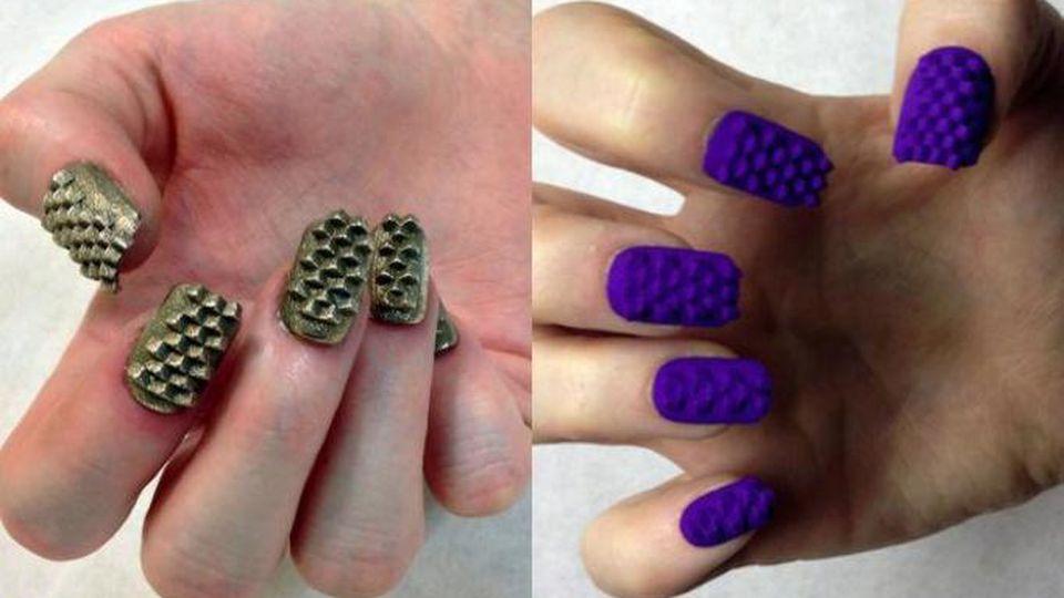 Paznokcie 3D - 17 pomysłów na manicure 3D