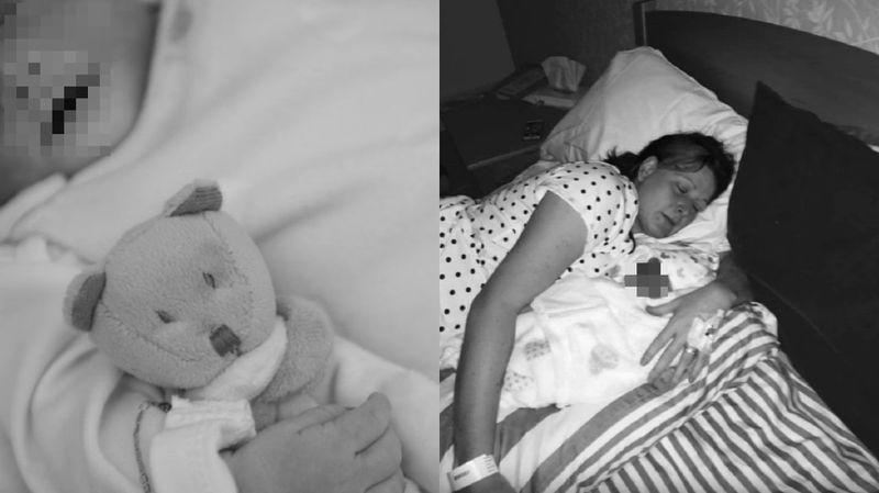 Na 3 dni przed porodem Lisa Fletche...