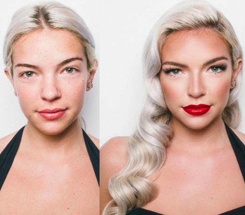 Mistrzynie makijażu: Przy pomocy kosmetyków uzyskują efekt porównywalny do operacji plastycznej - 2