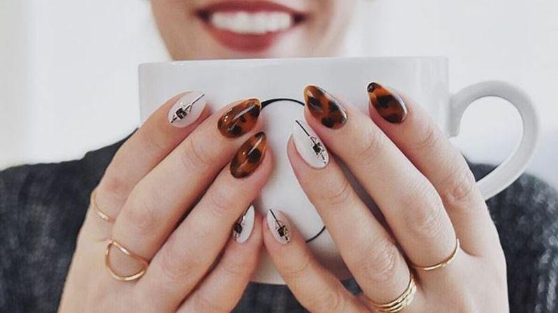 Tortoiseshell nails, czyli paznokci...