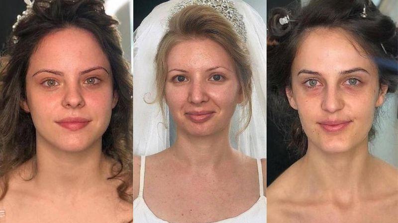 Kobiety uwiecznione na zdjęciach pr...