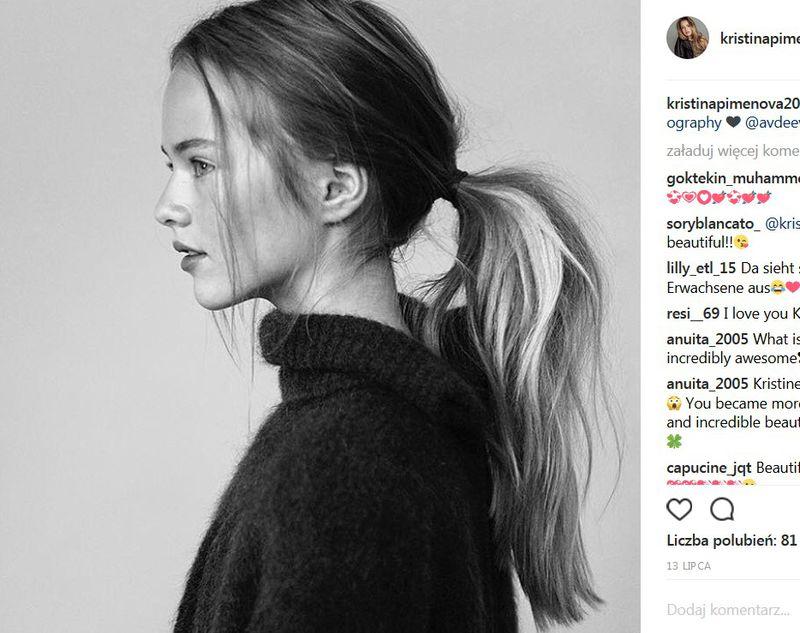 """Mamy aktualne zdjęcia Kristiny Pimenovej. Jak dzisiaj wygląda """"najpiękniejsze dziecko na świecie""""? - 2"""