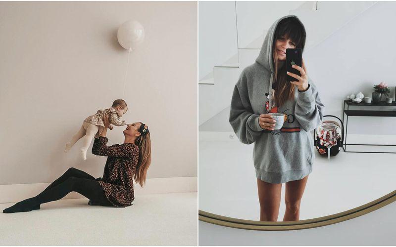 Nowe zdjęcia z domu Lewandowskich: minimalistyczna łazienka, przytulny salon, designerskie dodatki - zdjęcie 1