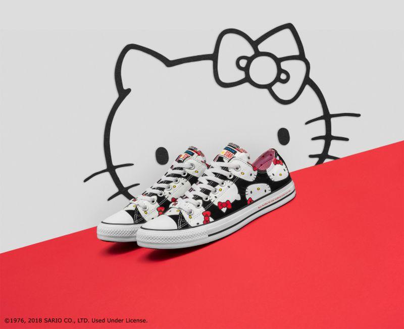 Kolekcja Hello Kitty x Converse - 1