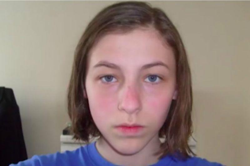 Pierwsze selfie wykonała w wieku 14...