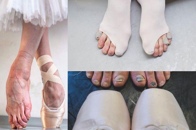 Codzienne życie baletnic pełne jest...
