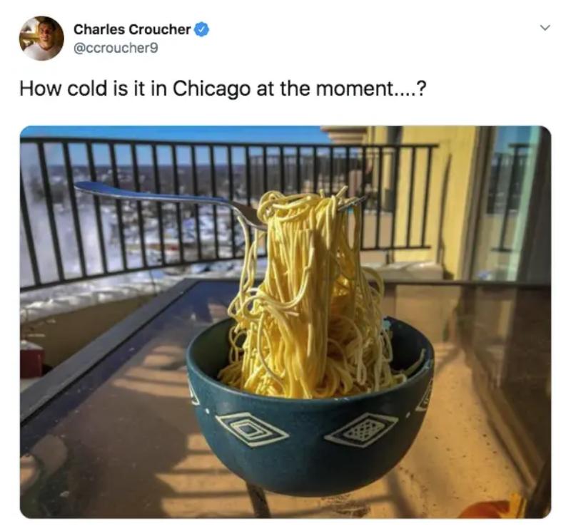 """""""Jak zimno jest w tym momencie w Ch..."""