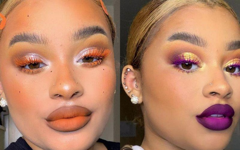 Rzęsy pod kolor... szminki. Świat beauty zakochał się w makijażach tej artystki - zdjęcie 1