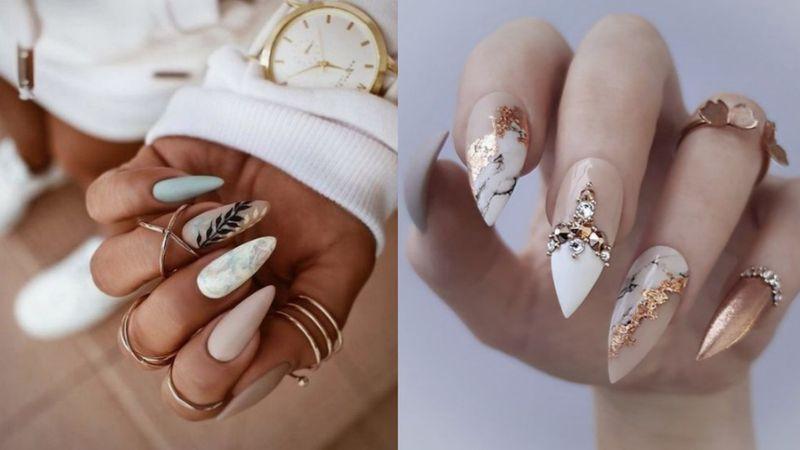 Stiletto nails, czyli paznokcie spi...