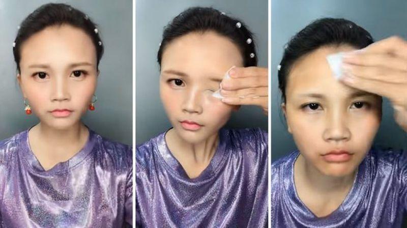 Azjatki pokazały, co skrywają pod makijażem. Mamy zdjęcia, w które trudno uwierzyć - 2