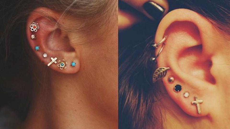 Gorący trend: Hurtowe kolczykowanie ucha (Te zdjęcia Cię ...