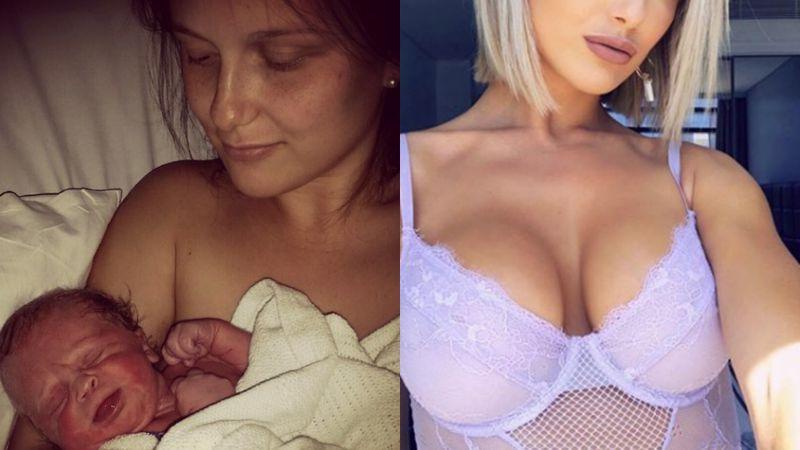 Wiele kobiet po urodzeniu dziecka m...
