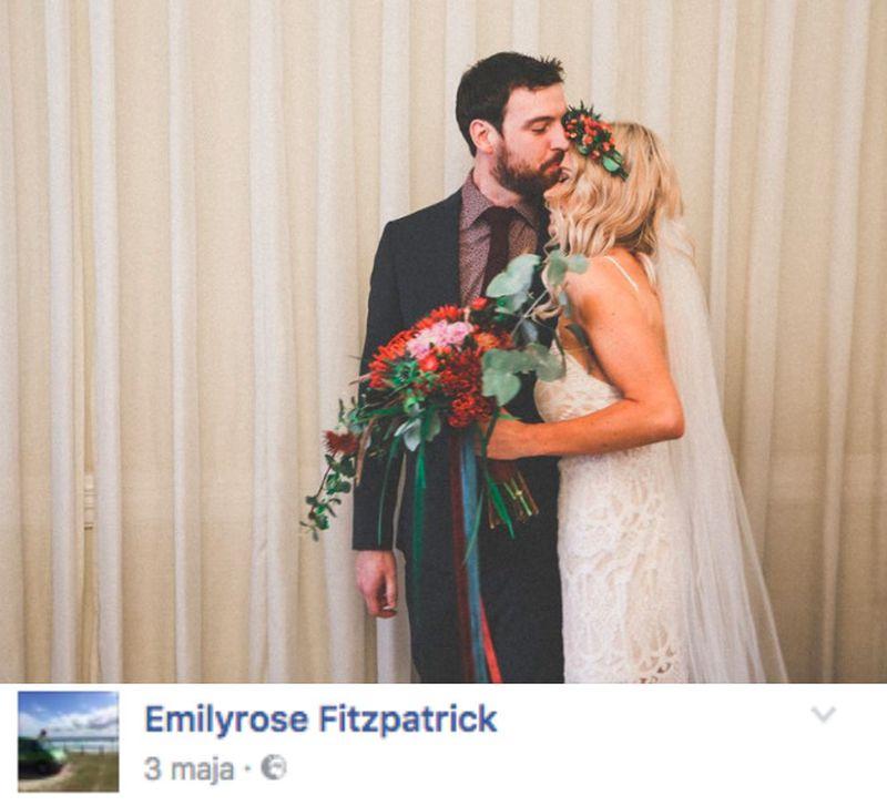 Kilka dni temu Emilyrose poślubiła...