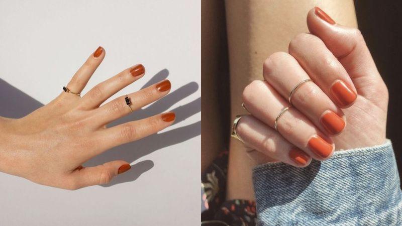 Caramel nails to zdecydowanie...
