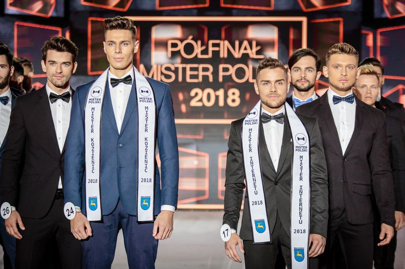Mister Polski 2018: Mamy zdjęcia 18 najprzystojniejszych kandydatów! - 2
