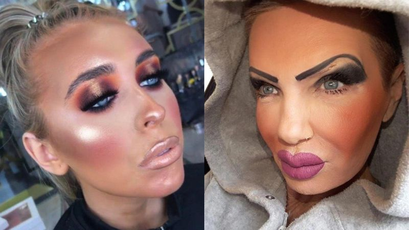 Czasami make-up zwyczajnie nam...